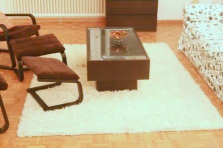 ... Ikea Ramvik center table+ Ikea shag rug | by maliniroy