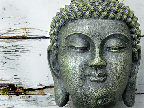 Buddha on Wood | by Wendy Piersall