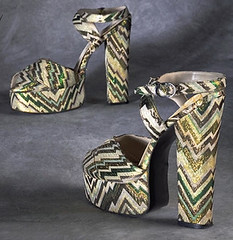 1972 Biba Platform Shoes | by Sacheverelle