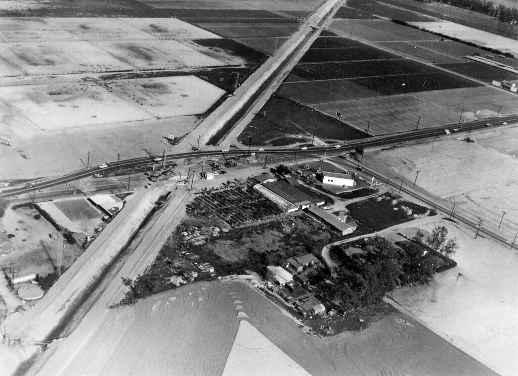 ... Garden Grove Near Westminster, Circa 1958 | By Orange County Archives