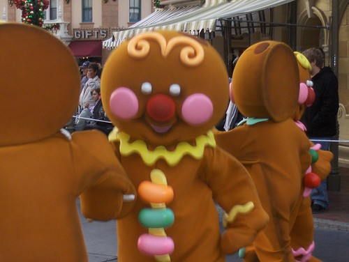 gingerbread men | by Finding Mickey