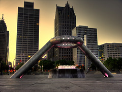 Dodge Fountain - Hart Plaza Detroit | by SetecX