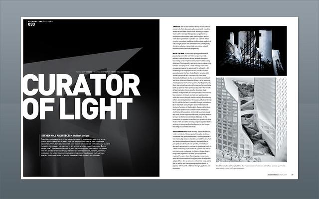 Modern Design Magazine | Spread design | layouts | Flickr
