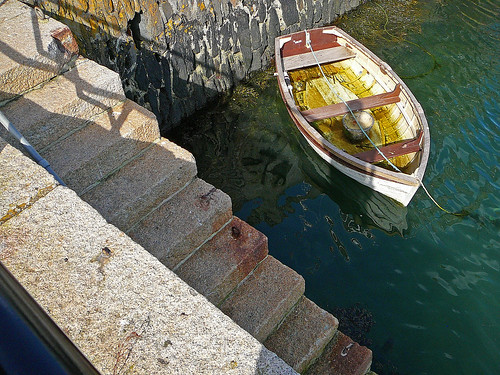 boat and steps | by Tim Green aka atoach