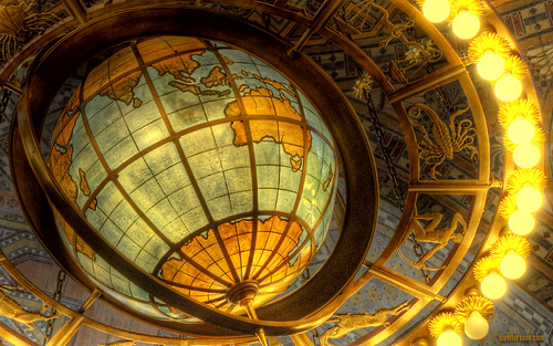 Los Angeles Library Globe | by s.j.pettersson