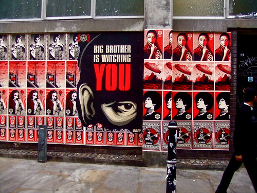 Shepard Fairey in London: Big Brother Is Watching YOU | by World of Good