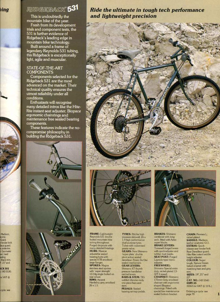 ridgeback mountain bike retro mtb british | vincycles | Flickr
