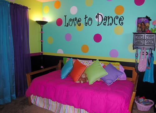 Polka Dots Stripes And Love Dance Make