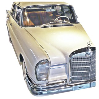 "Heckflosse - ""Fintail"" - Mercedes-Benz W110 
