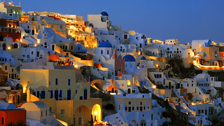 Another summer night falls over Oia | by MarcelGermain
