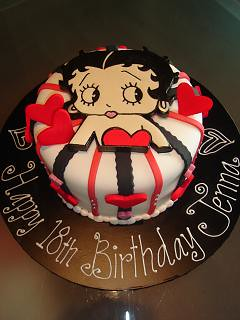 betty boop cake betty boop birthday cake julie flickr 1697