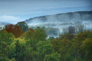 morning in the hills of ontario | by delstel