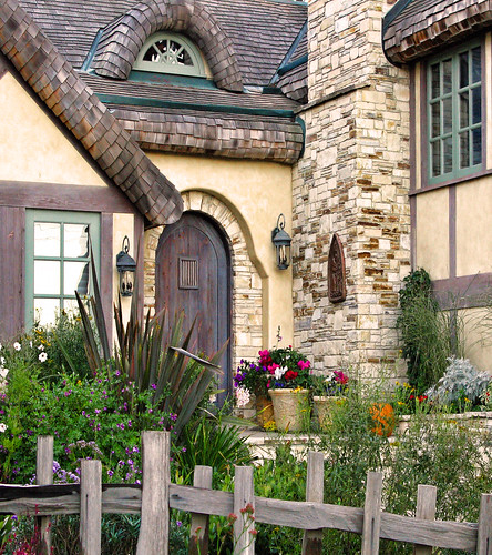 THE FAIRYTALE COTTAGES OF CARMEL-BY-THE SEA | by linda yvonne