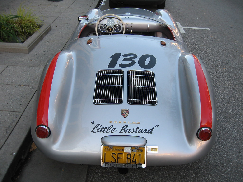 porsche 550 spyder by bagel