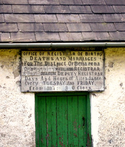 Notice over door of derelict Cottage!  # 101 Explore | by MarsW