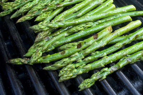 lightly grilled asparagus | by woodleywonderworks