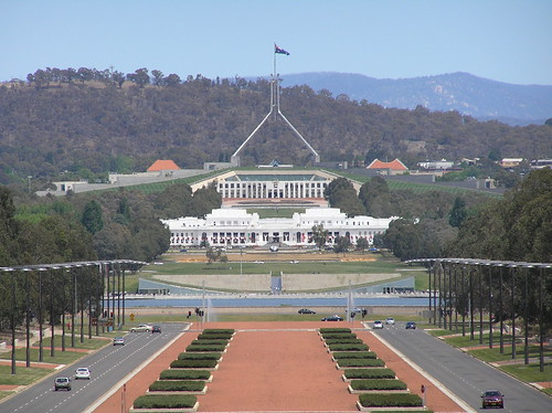 Old & New Parliament House, Canberra, ACT | by Brenden Ashton