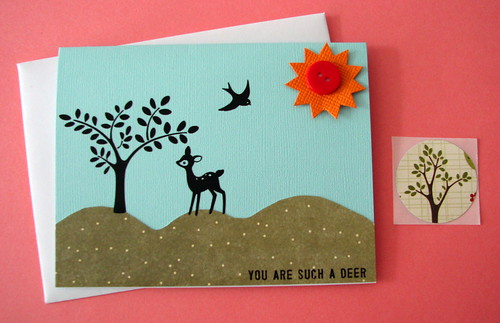 You Are Such a Deer card | by glamourfae