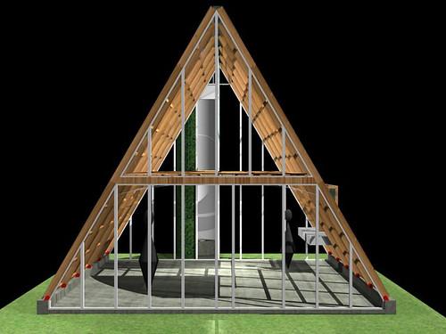 Casa ecol gica prefabricada img 02 el art fice i igo - Casa prefabricada ecologica ...