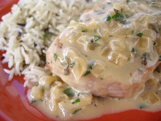 Sauteed Pork Chop with Sage-Cider Cream Sauce | by swampkitty