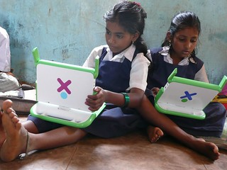India girls Banner | by One Laptop per Child