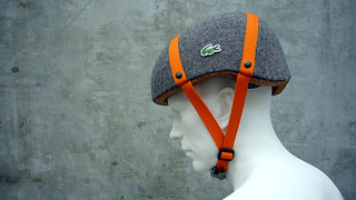 Lacoste Cork Bicycle Helmet Concept | by KyleF