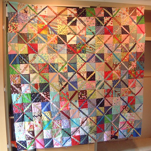 scrappy quilt | by cybperry