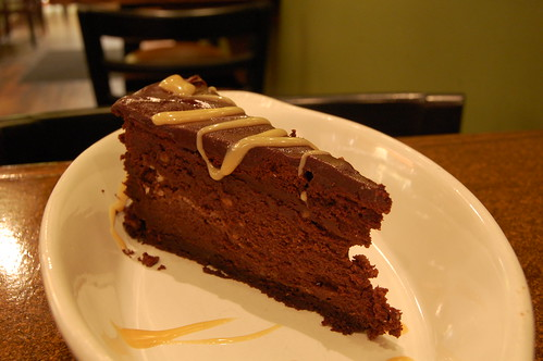 flourless chocolate cake | house made dulce de leche | Flickr