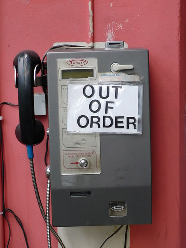 OUT OF ORDER payphone | by mlcastle