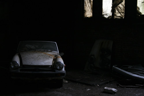 abandoned car | by they_reminisce