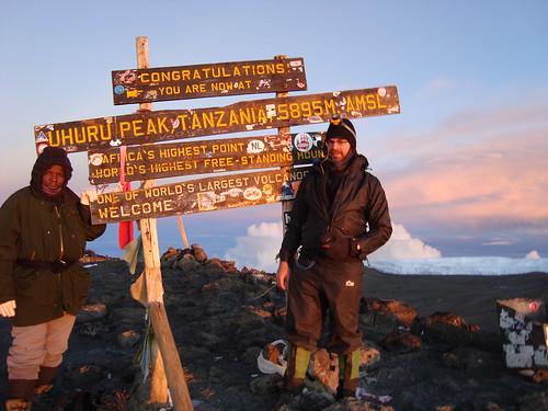 Made it! Uhuru Peak! | by Marcos Caceres