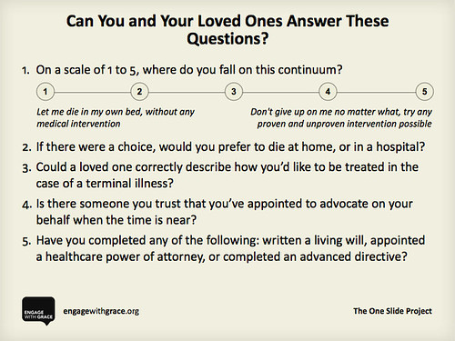 The One Slide: End of Life Questions | by stevegarfield