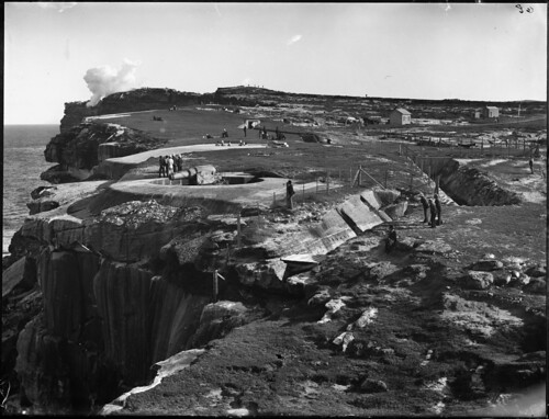 Cliff top gun emplacement at South Head | by Powerhouse Museum Collection