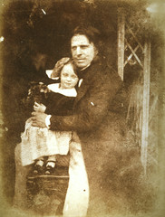 David Octavius Hill with his daughter, Charlotte | by National Galleries of Scotland Commons