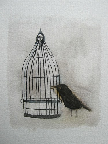 bird&cage | by cathy cullis