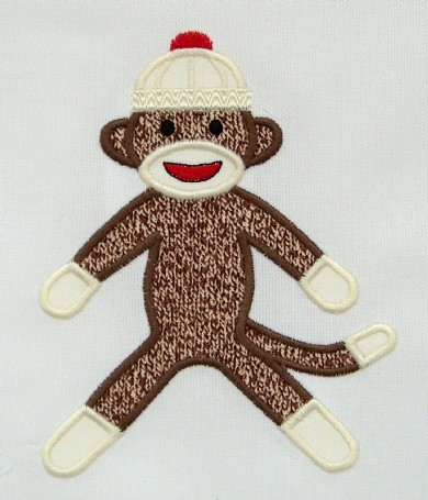 Sock Monkey Applique Machine Embroidery For More Info Flickr