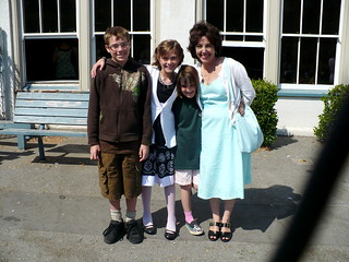 Evan, Zoe, Zane, and Grandma | by hep