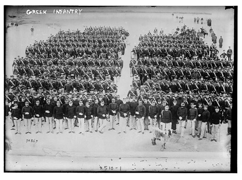 Greek Infantry  (LOC) | by The Library of Congress