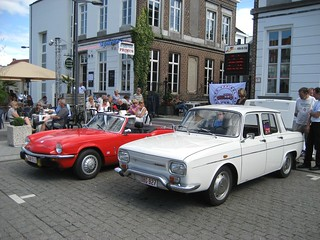 Renault 10 and Triumph Spitfire | by Count Rushmore