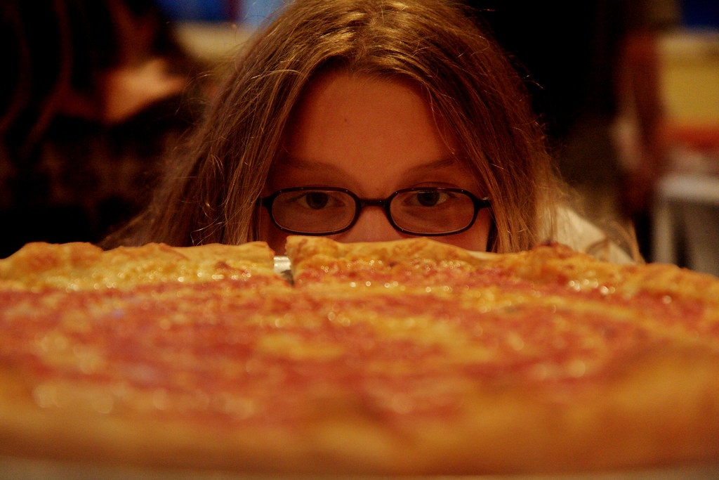 Image result for pizza girl