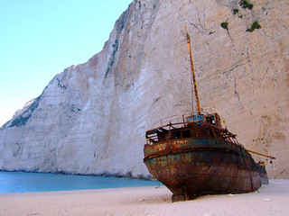 Shipwreck at Navagio | by Ghost of Kuji