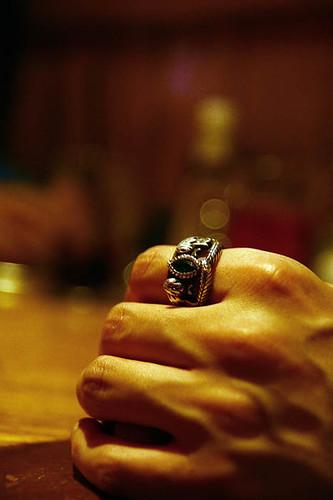 Ring Of Barahir Anel Barahir E A M 227 O Do Meu Amigo