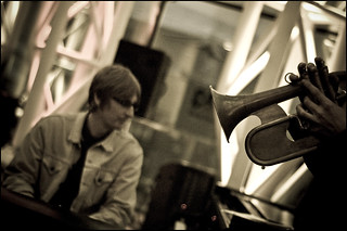 Rush Hour Blues, 12th.September 2008 : Bryan Corbett Quartet | by Garry Corbett