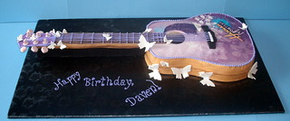 Hannah Montana Guitar Cake | by Signature SugarArt