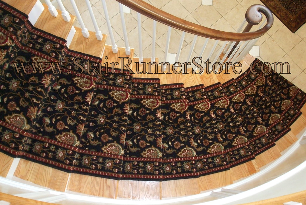 ... Curved Staircase Stair Carpet Runner 2 | By The Stair Runner Store