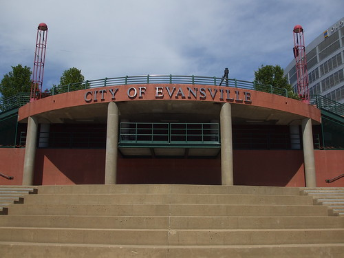 City of Evansville, Indiana - Riverfront Architecture | by Lori SR
