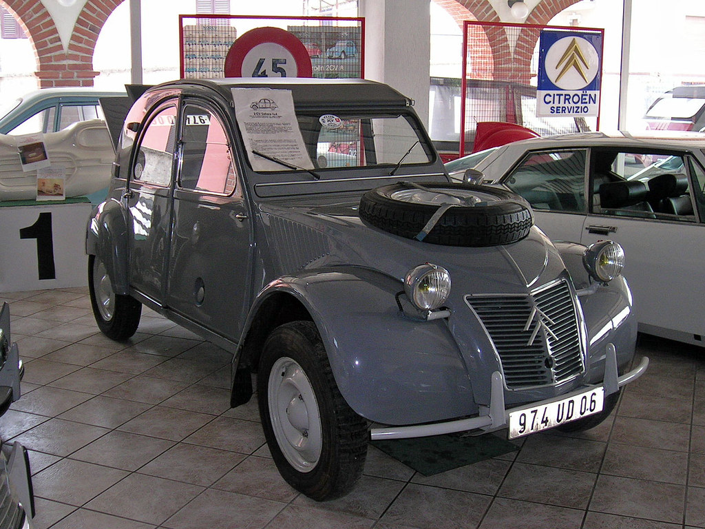 citroen 2cv 4×4 sahara for sale