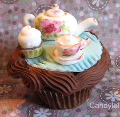 Royal Albert Tea and Cupcakes | by Candylei