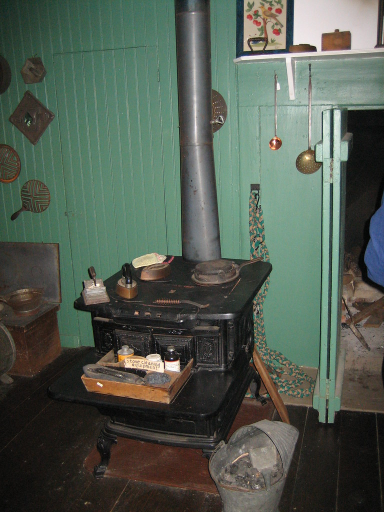 mid to late 19th century kitchen stove next to earlier coo u2026 flickr