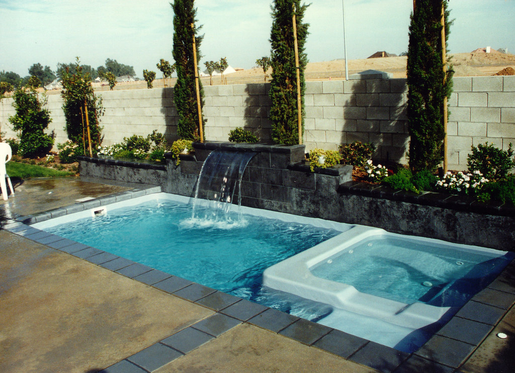 Viking Pools Barbados Model Rectangle Inground Fiberglass